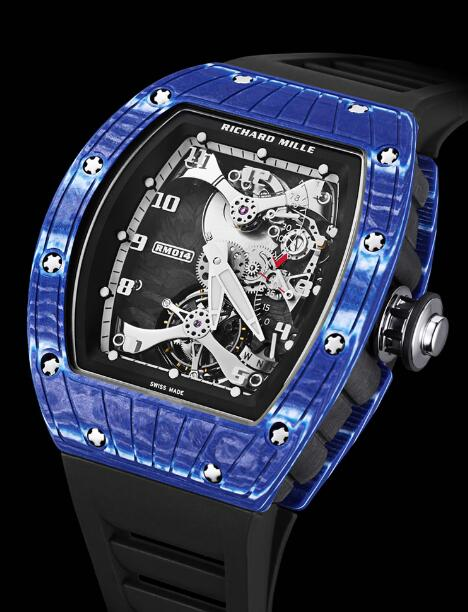 Richard Mille Replica Watch RM 014 TOURBILLON JAPAN BLUE
